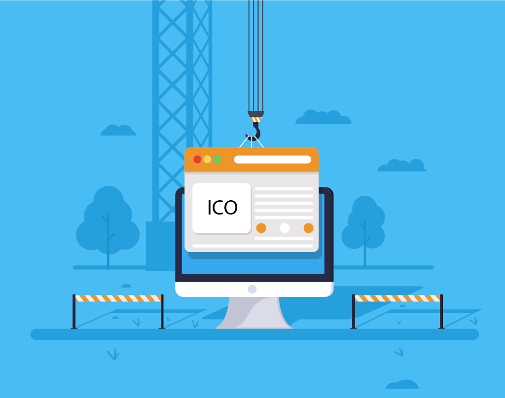 Создание сайта для IEO проекта